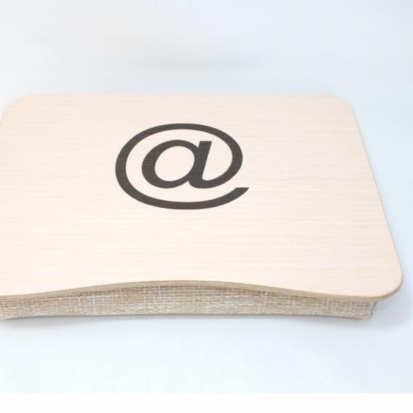 Wooden Laptop Bed Tray / Serving Tray / iPad Table / Breakfast Tray / Laptop Stand with At Theme Inlay / Custom Themes Available