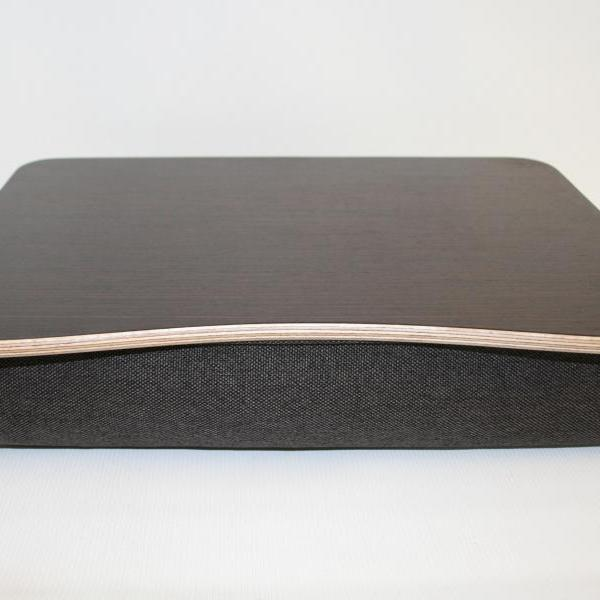 "Wooden Laptop Bed Tray / iPad Table / Breakfast Tray / Laptop Stand ""Wenge Dark"""